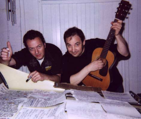 Smokey Hormel with Joe Strummer